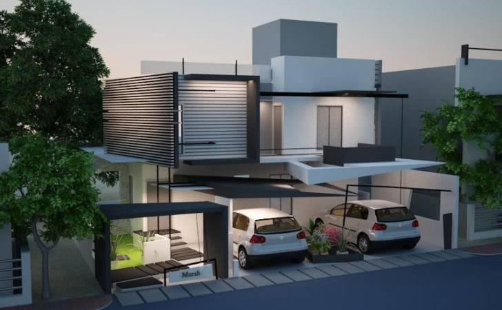 Luxury Duplex Homes Beautiful Front Elevation