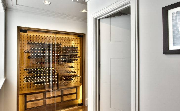 Luxury Glass Wine Cellar Design Modern Homes