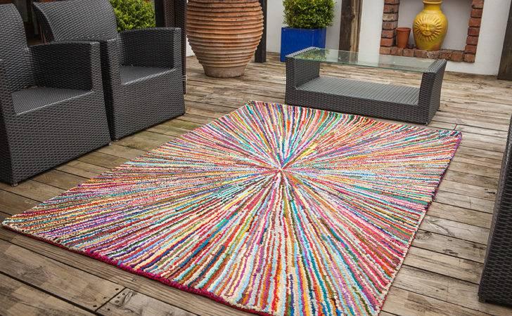 Luxury High End Colourful Multi Rugs Fashionable Sunbeam Cotton