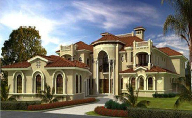 Luxury Home Mediterranean Style House Plans Tuscan Homes