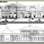 Luxury Homes Front Elevation