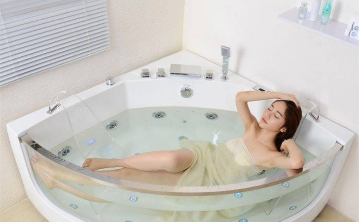 Luxury Jacuzzi Walk Tub Whirlpool Bathtub Indoor