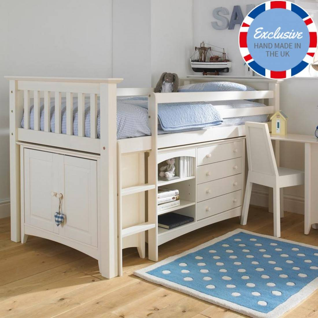Luxury Kids Cabin Bed Childrens Bedroom Furniture