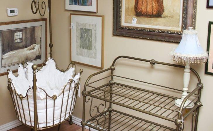 Luxury Lamb Sheer Beauty Nursery Furniture Antique Brass Baby