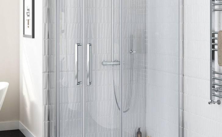 Luxury Left Walk Easy Clean Quadrant Shower Enclosure