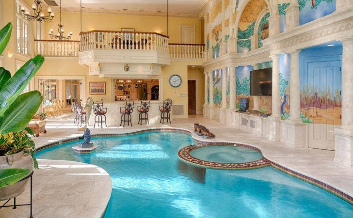 Luxury Mansion Complete Without Private Indoor Swimming Pool