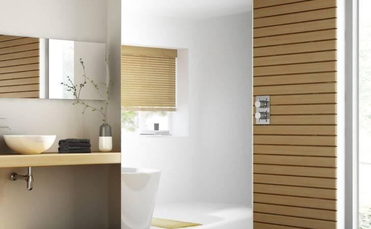 Luxury Mirrored Walk Shower Enclosure Through Wet Room Glass