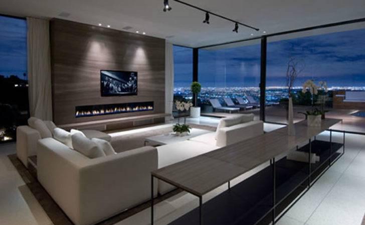 Luxury Modern Living Room Interior Design Haynes House