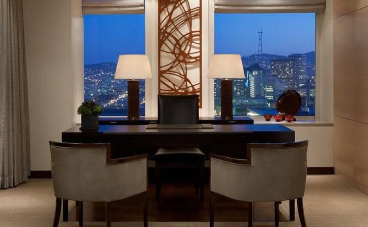Luxury Modern Presidential Suite Office Interior Design