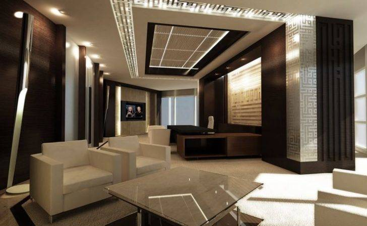 Luxury Office Offices Executive Senators Interior Design