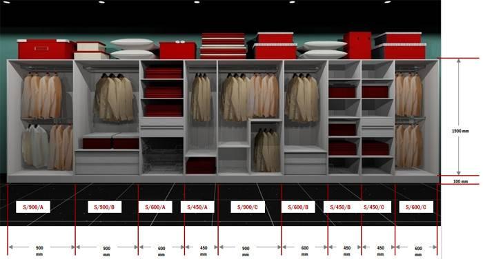 Luxury Package Built Wardrobe
