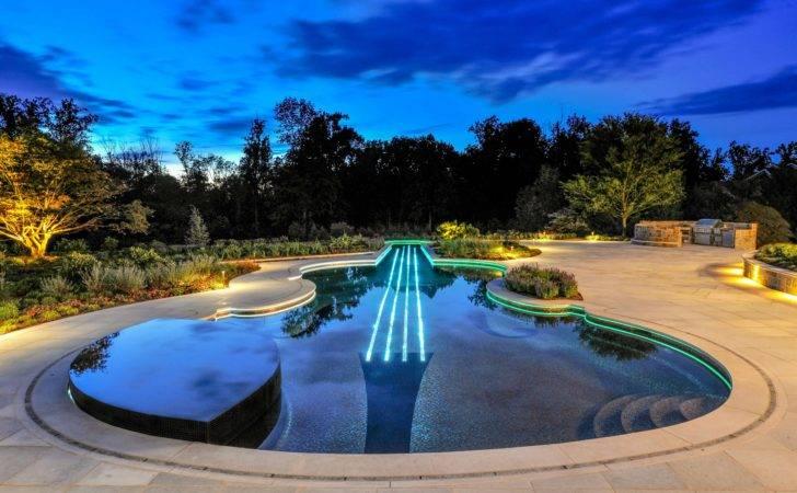 Luxury Pool Spa Design Color Led Swimming