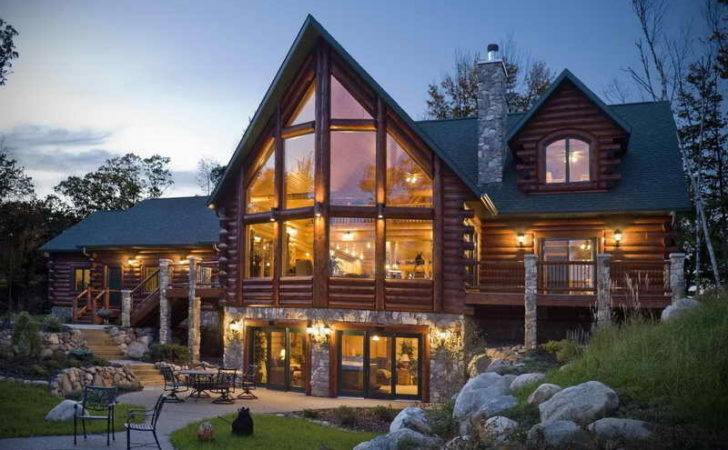 Luxury Prefab Homes Logging