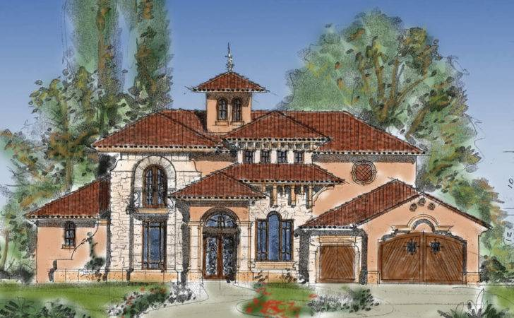 Luxury Premium Collection Tuscan House Plans Home