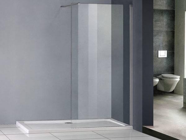 Luxury Shower Enclosure Wet Room Walk Glass Screen Cubicle Panel