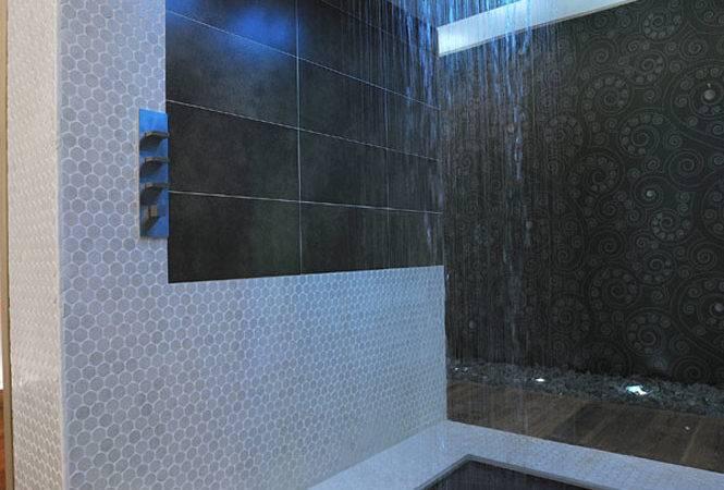 Luxury Shower Personal Golf Resort Alberto Apostoli Interior Design