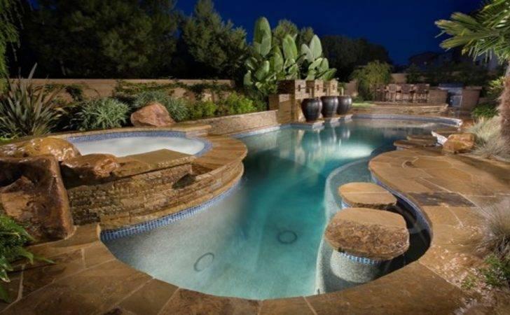 Luxury Swimming Pool Pools Waterfalls Ideas Flauminc