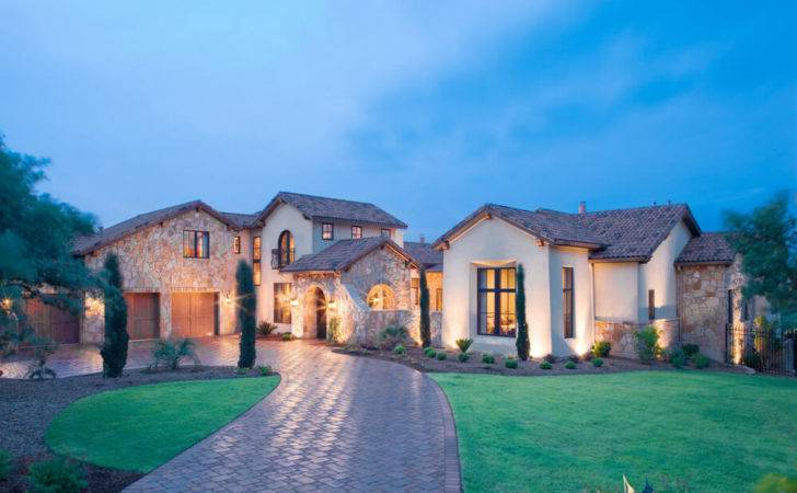 Luxury Tuscan Villa Heyl Homes Architects