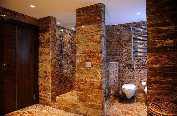 Luxury Walk Doorless Showers Stylish Shower Enclosures