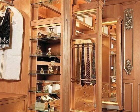 Luxury Walking Closet Custom Built Cabinets Home Decor Closets