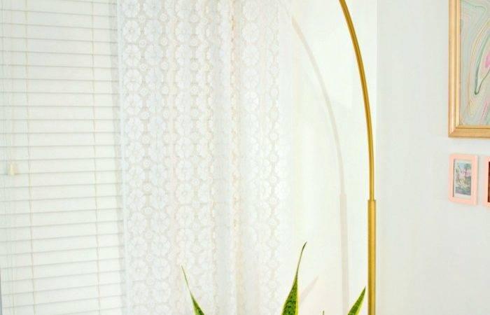 Made Gold Arc Lamp Designer Home
