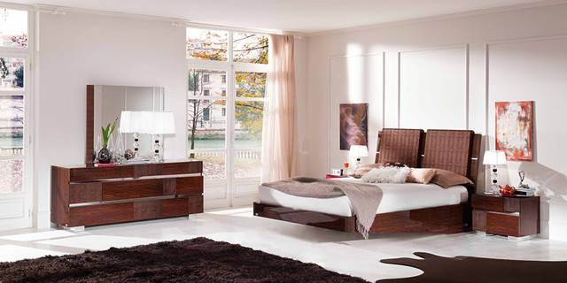 Made Italy Wood Modern High End Furniture Contemporary Beds