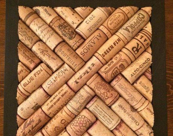 Made Order Supports Bottom Champagne Corks Wood