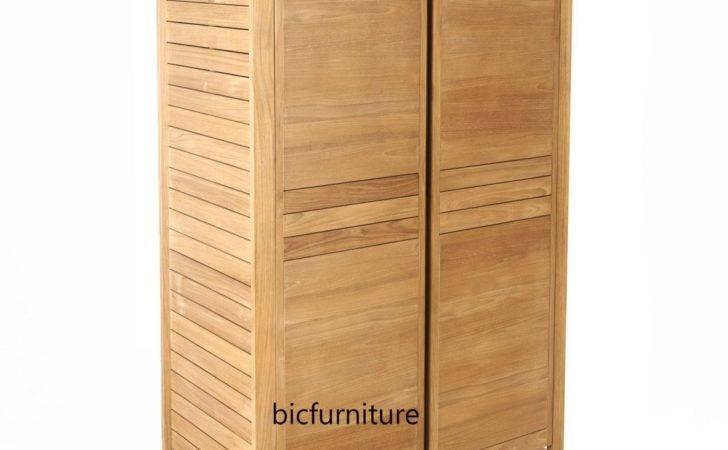 Made Order Teak Wood Wardrobe Hardwood Furniture