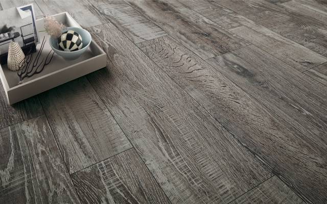 Madeira Anthracite Porcelain Wood Tiles Effect