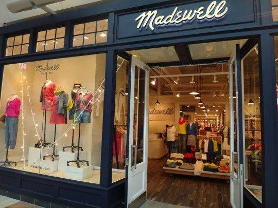 Madewell Storefront Love Lighting Store Like