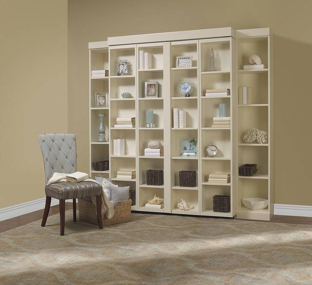 Madison Bifold Bookcase Bed Contemporary Living Room Other Metro
