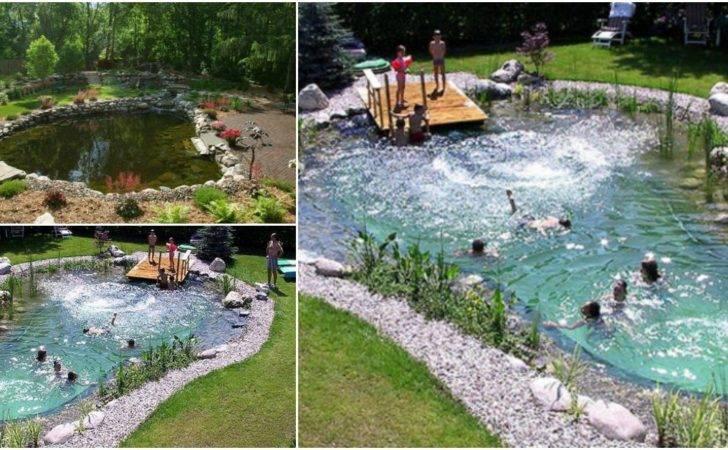 Magical Outdoor Diy Make All Natural Swimming Pond