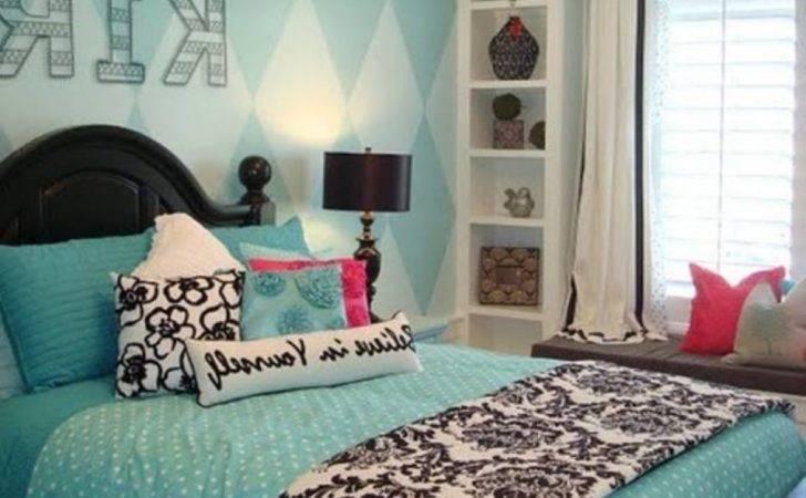 Magnificent Light Blue Teenage Girl Bedroom Decorating