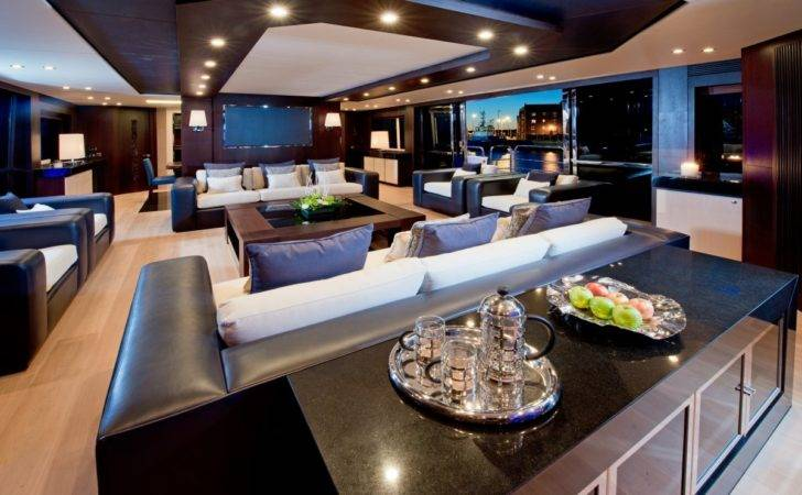 Main Saloon Yacht Has Been Meticulously Designed