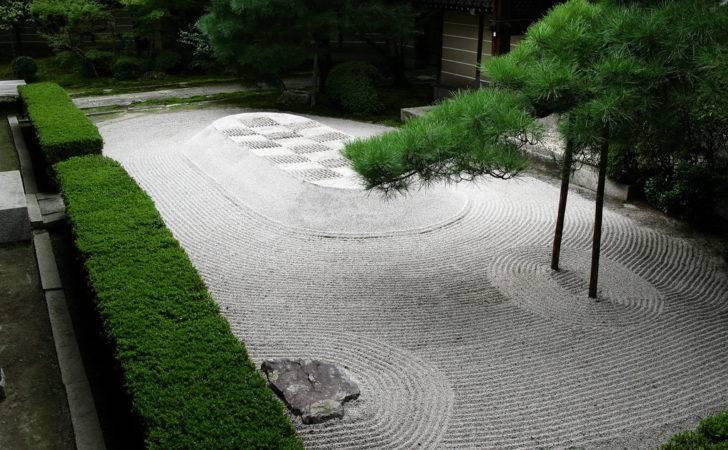 Major Aspect Zen Garden Set Aside Area Your