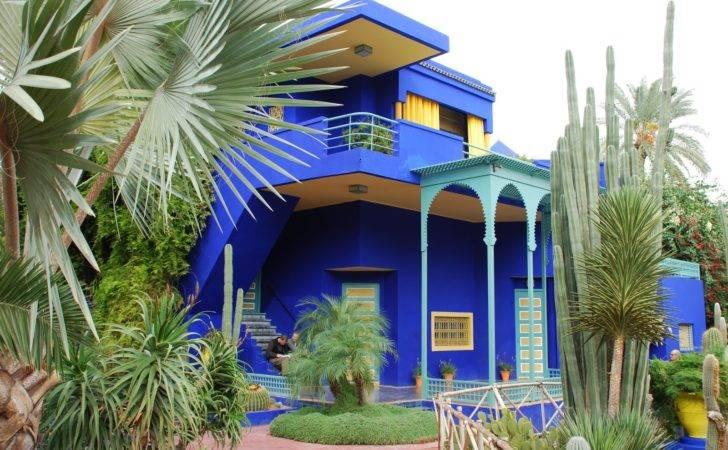 Majorelle Gardens Morocco Garden Eaden