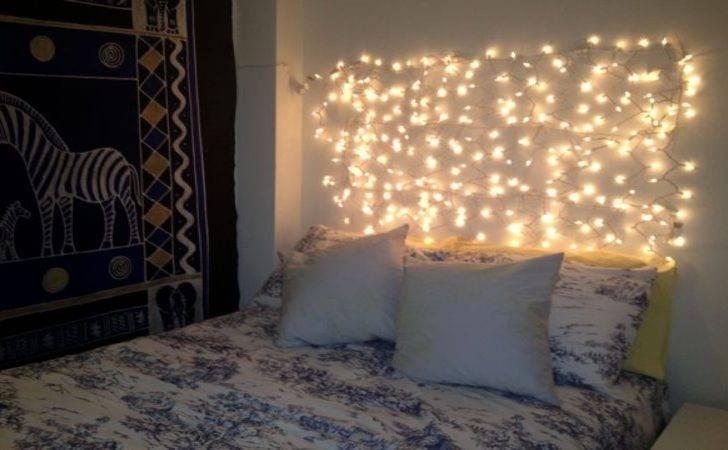 Make Bedroom Diy Lighting Ideas Christmas