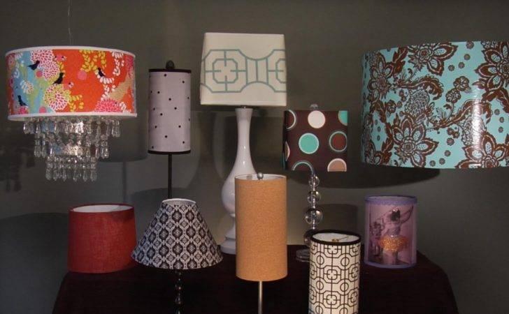 Make Custom Lamp Shade Materials