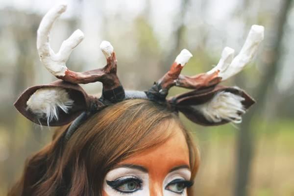 Make Deer Tail Costume Easy Diy Halloween