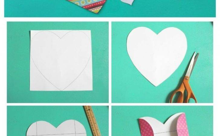 Make Heart Shaped Envelope Perfect Valentines Day