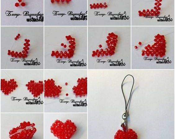 Make Heart Shaped Necklace Tutorials