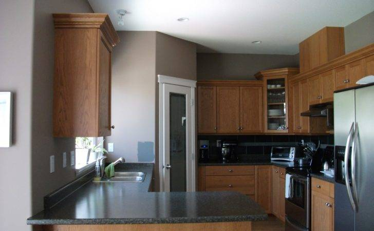 Make Honey Oak Cabinets Look Modern Answerplane