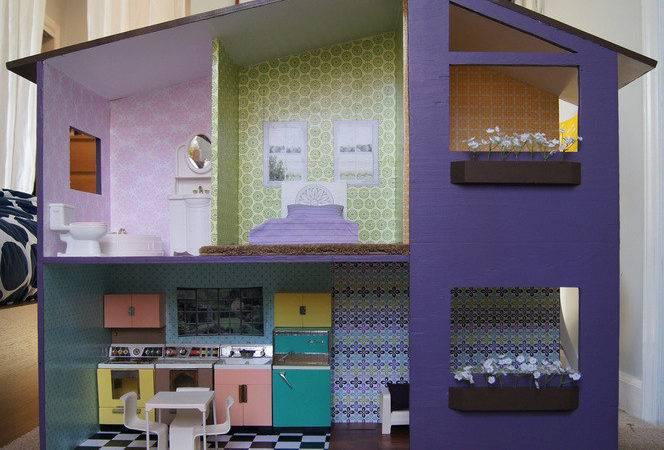 Make Modern Doll House Curbly Diy Design Decor