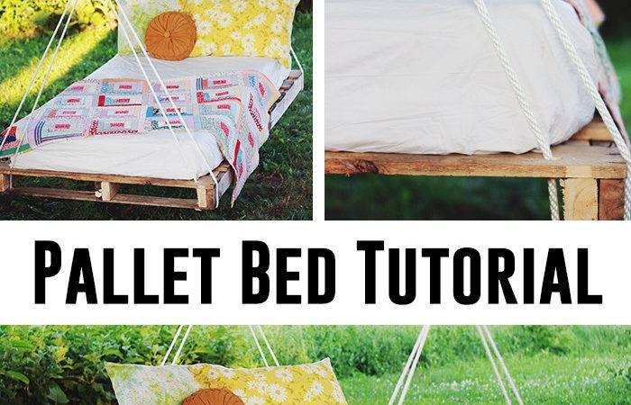 Make Pallet Bed Swing Andrea Notebook
