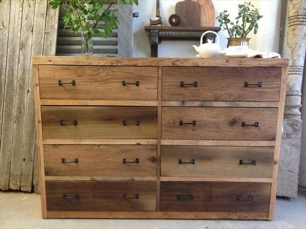 Make Pallet Room Divider Wooden Furniture