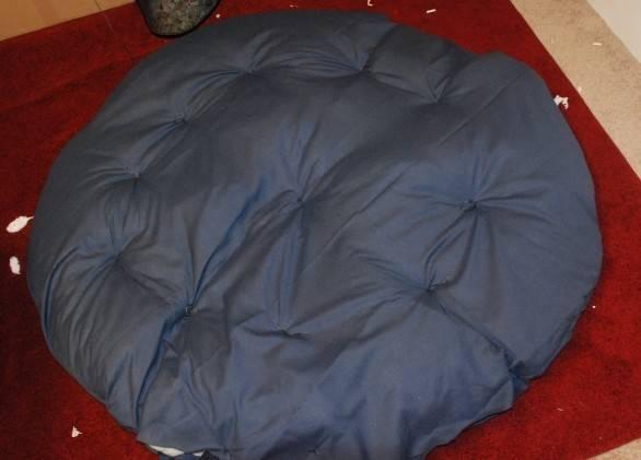 Make Papasan Chair Cushion