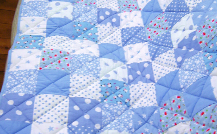 Make Patchwork Quilt Easy Way Turquoise Textiles