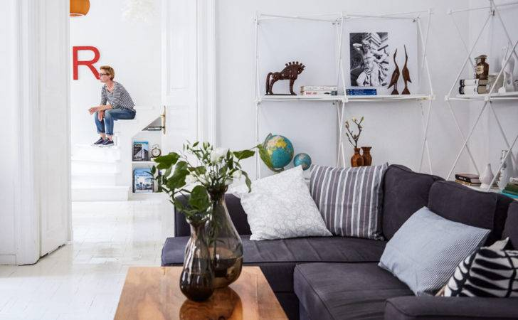 Make Small Space Look Bigger White Walls Floors