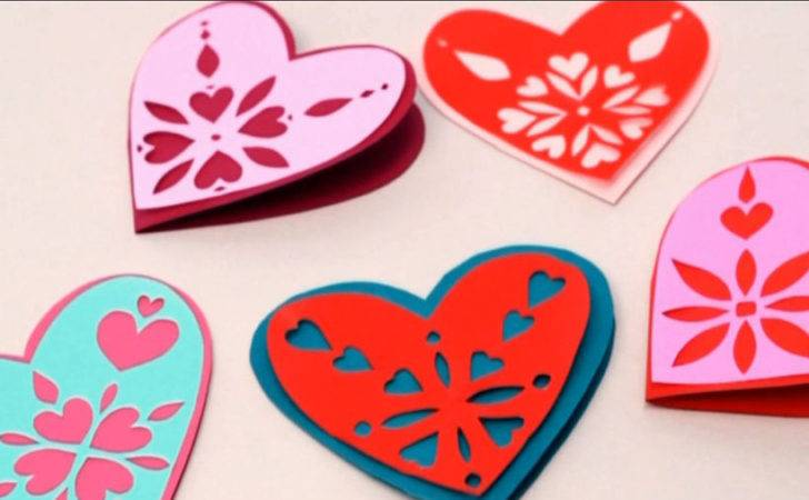 Make Snowflake Hearts Parents