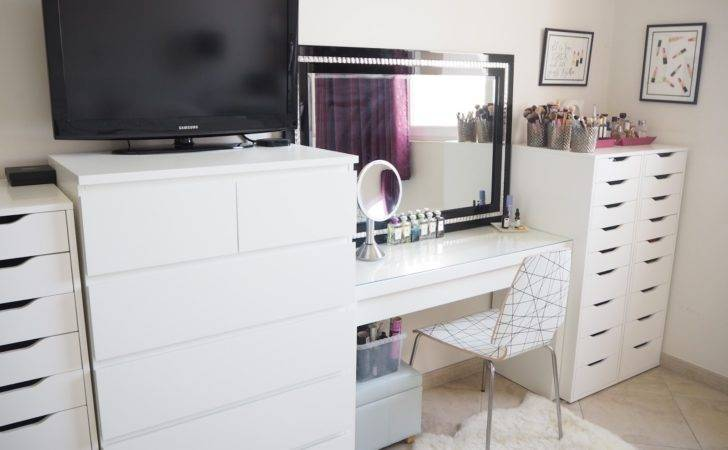 Make Storage Ideas Ikea Malm Dressing Table